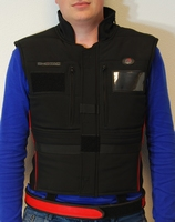 Double Alpha Academy SHOTAC IPSC bodywarmer Zwart